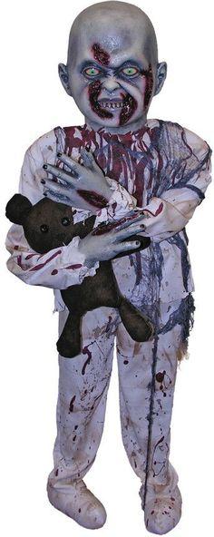 halloween prop: zombie boy prop