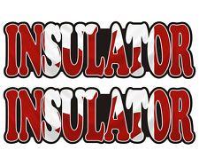 Insulator With An Attitude Hard Hat Decal Helmet Sticker Label Insulation