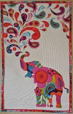 Heffalumps Wall Quilt Pattern, Elephant Quilt | Etsy, Elephant ... : elephant quilt patterns - Adamdwight.com