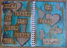 art journal pages - Google Search