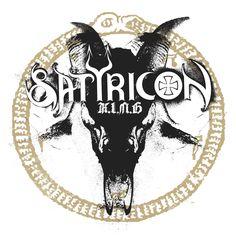 Bloodshot eyes - metal skin Serpents tongue - dagger claws Dragon wings - crooked horns K.I.N.G Satyricon #KING #Satyricon