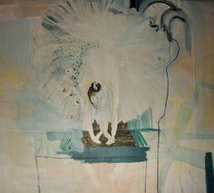 balletdancer Ballerina, Wall Decor, Painting, Design, Art, Wall Hanging Decor, Art Background, Ballet Flat, Painting Art