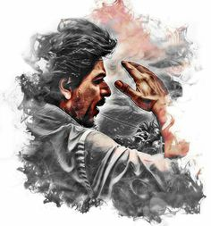 King Khan of Bollywood Mr. Shah Rukh Khan. edited by vishwas - twitter.com/iamvbs