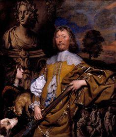 William Dobson - Endymion Porter Around 1642-5 - Google Art Project - William Dobson - Wikipedia, the free encyclopedia