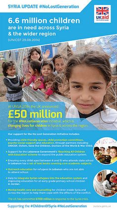 UK aid for the Syria No Lost Generation Initiative | by DFID - UK Department for International Development