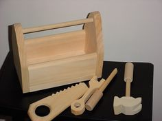 Child's Tool Box and Tools