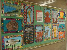 africa bulletin board ideas | Bulletin board display: