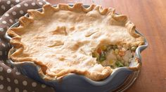 Deep-Dish Chicken Pot Pie-been making this recipe for years-it's the best!