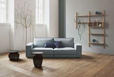 Bolia Sofa, Gray Sofa, Design Studio, Living Room Kitchen, Dining Room, Sofas, Solid Wood, Scandinavian, Cool Designs