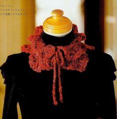 tour de cou rouge et ocre. Écharpes Au Crochet, Apprendre Le Crochet,  Echarpe 363eea30700