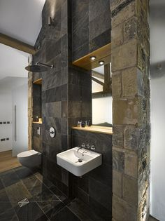 Old Yorkshire barn converted into a modern home by Snook Architects