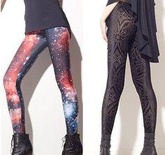 black milk leggings-ash wants van gogh or galaxy print.