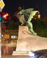 Dragon sculpture, Ljubljana, Slovenia