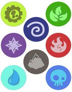 Skylanders Elements Printable | Skylanders: Trap Team ...