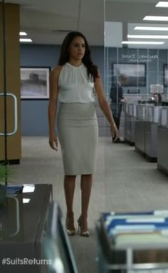 Brb Stealing the wardrobe of Rachel Zane