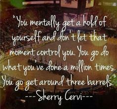 Barrel Racing Truth!