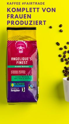 Angelique's Finest - Made by Women, Aroma-Kaffee Arabica, Mocca, Strong Women, Coffee, Chocolate, Pour Over Coffee, Espresso Maker, Coffee Beans