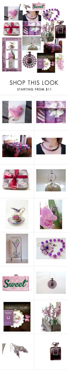 Gorgeous Gifts by anna-recycle on Polyvore featuring Edie Parker, Chanel, Universal, modern, rustic and vintage