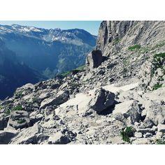 Descente du refuge de la Vogeale vers le chalet de borée- Sixt Fer à Cheval- Alpes de Haute Savoie- crédit CDessaux