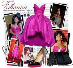 """Rihanna by Sheniq"" by sheniq on Polyvore"