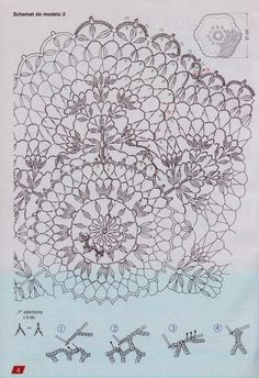 album has many crochet, basically doily/mats, folders. Crochet Doily Diagram, Crochet Doilies, Crochet Patterns, Thread Crochet, Knit Or Crochet, Arm Knitting, Crochet Home, Black Rings, Handicraft