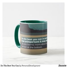 Sip from one of our many Inspirational Quotes coffee mugs, travel mugs and tea cups offered on Zazzle. Treat Yourself, Make It Yourself, Photo Mugs, The Best, Beverages, Inspirational, Treats, Ceramics, Canning