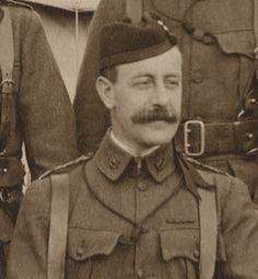 Lieutenant Colonel J. M. Hannan, commanding officer of the 8th battalion (Cameronians) Scottish Rifles, killed by a sniper, June 21st 1915