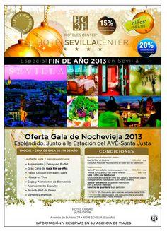 Sevilla Center. 20% Descuento en Gala Nochevieja (con cotillón) ultimo minuto - http://zocotours.com/sevilla-center-20-descuento-en-gala-nochevieja-con-cotillon-ultimo-minuto/