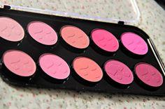 Sentido Contrário | Laly Oliveira: Paleta de Blushes Jasmine