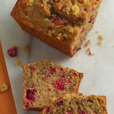 Get this Cranberry Walnut Bread and plenty other EASY, HEALTHY brunch recipes