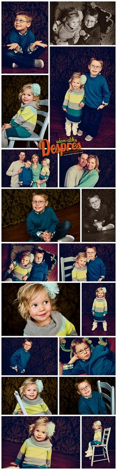 Beckler Family- Family Indoor Studio Session » Despres Photography