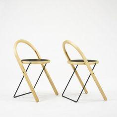 Börge Lindau / Be Plus B+ folding chairs