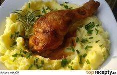 Kuře pečené v podmáslí