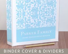 Make personalized wedding albums, recipe books and home management binders or showcase your business with custom client binders. Use this set to create