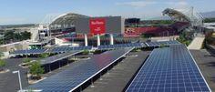 Ouverture de la ferme solaire du Rio Tinto Stadium http://www.ostadium.com/news/522/ouverture-de-la-ferme-solaire-du-rio-tinto-stadium
