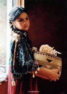Beautiful artwork of Indian Girl: