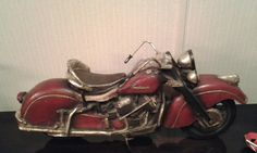 1940's wooden Indian. Newest item for his collection.
