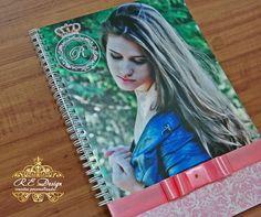 Convite e Caderno para festa de 15 anos