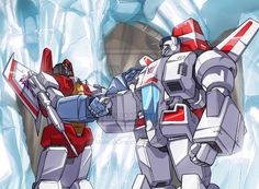Starscream and Jetfire