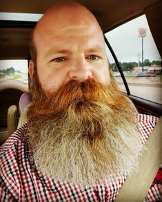 Bald Men With Beards, Bald With Beard, Red Beard, Great Beards, Long Beards, Awesome Beards, Best Laser Hair Removal, Hair Removal Devices, Mustache Men