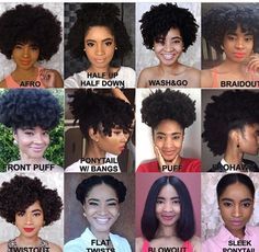 """2,466 Likes, 25 Comments - #naturalhair ❤️ (@myhaircrush) on Instagram: """"Did you have any idea versatile your natural hair would be?! @vanlenore #MyHairCrush #twistout…"""""""