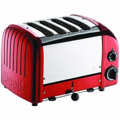 DUALIT New Generation 4 Slice Candy Apple Red $279.99 SHIPPED FREE~FREE LOCAL DELIVERY WITHIN 10 MILES OF SANTA MONICA, CALIFORNIA~ MAJOR CREDIT CARDS ACCEPTED~ www.seabaylakehome.com