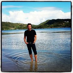 Now feel the the ripples of the water as they pulsate from Ewan's feet. | 22 Steps To Tranquility As Told By Ewan McGregor's Instagram