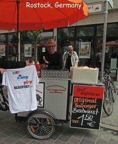 EatSleepPlayBeaufort.com T-Shirts Travel:  Rostock Germany