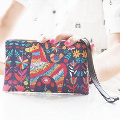 6981ace46d1d High Capacity Summer Style Women Wallet Coin Purse Wallet
