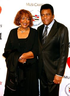 Charley and Rozene Pride | Charley Pride Singer Charley Pride (R) and Rozene Pride (L) arrive at ...