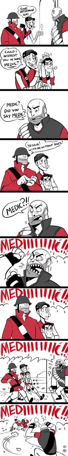 Esta usted interesado en un medic?