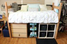 Cute diy dorm room decorating ideas on a budget (23)