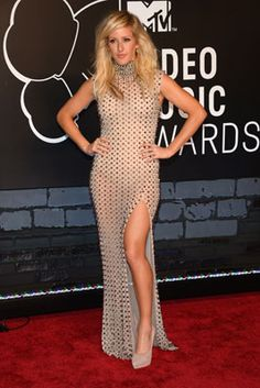 The Best Looks from the 2013 MTV Video Music Awards: Ellie Goulding in Furne One Amato