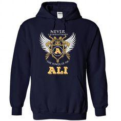 ali - #tshirt display #sweatshirt style. THE BEST => https://www.sunfrog.com/States/ali-8162-NavyBlue-29101892-Hoodie.html?68278